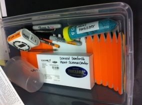 Supply box for teachers